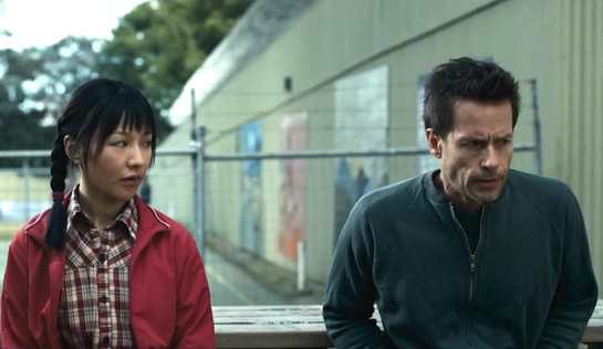33 postcards - Zhu Lin as Mei Mei and Guy Pearce as Dean Randall