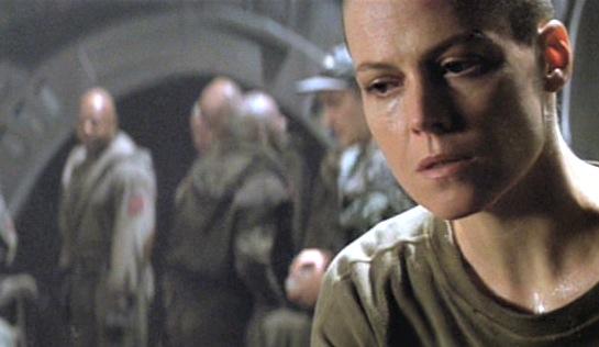 Alien 3 - Sigourney Weaver as Lt Ellen Ripley