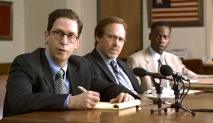 American Violet #3 - Dee's legal; team: Tim Blake Nelson as David Cohen, Will Patton as Sam Conroy, and