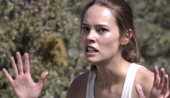 The Archer - Bailey Noble as Lauren Pierce
