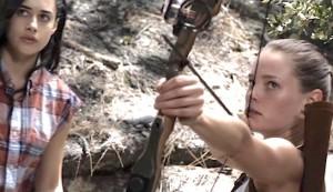 The Archer #5 - Jeanine Mason was Rebecca Rolinski and Bailey Noble as Lauren Pierce