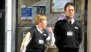 Bad Girls: The Musical - Helen Fraser as Sylvia Hollamby and David Burt as Jim Fenner
