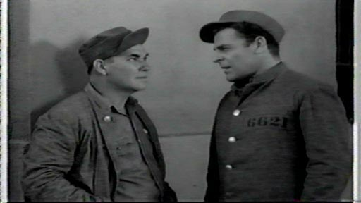 Behind Prison Gates - George Lloyd as Marty Conroy and Brian Donlevy as Red Murray