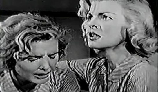 Betrayed Women - Beverly Michaels as Honey Blake and Peggy Knudsen as Nora Collins