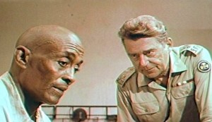 Black Jesus #2 - Woody Strode as Maurice Lalubi and Jean Servias as the Commander