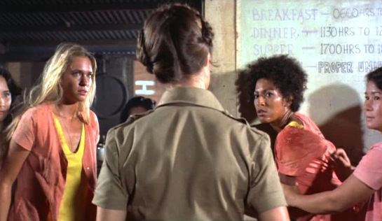 Black Mama, White Mama - Margaret Markov as Karen Brent and Pam Grier as Lee Daniels