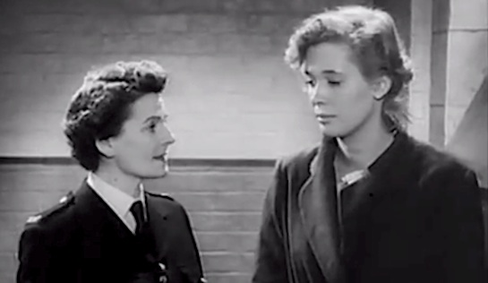 Blonde Bait - Betty Cooper as Chief Matron Evans and Beverly Michaels as Angela Booth