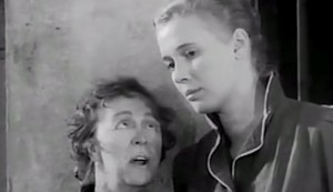 Blonde Bait #2 - Thora Hird as 'Gran' Ramsey and Beverly Michaels as Angela Booth