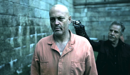 Brawl in Cell Block 99 - Vince Vaughn as Bradley Thomas and Don Johnson as Warden Tuggs