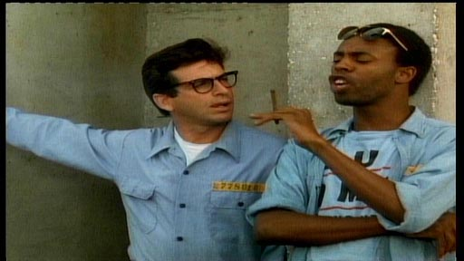 Buy & Cell - Robert Carradine as Herbie Altman and Michael Winslow as Sylvester 'Sly' Swann