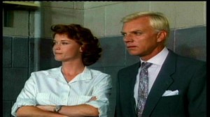 Buy & Cell #2 - Lise Cutter as Dr Ellen Scott and Malcolm McDowell as Warden Tennant