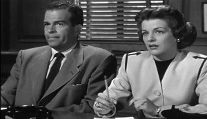 Chain Gang #2 - Douglas Kennedy as Cliff Roberts and Marjorie Lord as Rita McKelvey