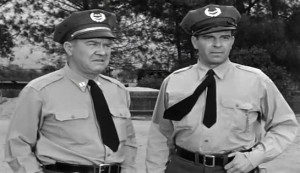 Chain Gang #3 - Emory Parnell as Capt Duncan and Douglas Kennedy as Cliff Roberts