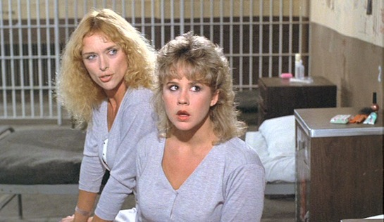 Chained Heat - Sybil Danning as Ericka and Linda Blair as Carol Henderson