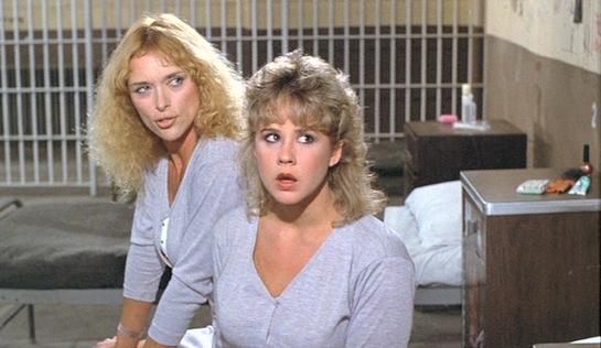 Chained Heat - Sybil Danning as Ericka and Linda Blair as Carol Henderson