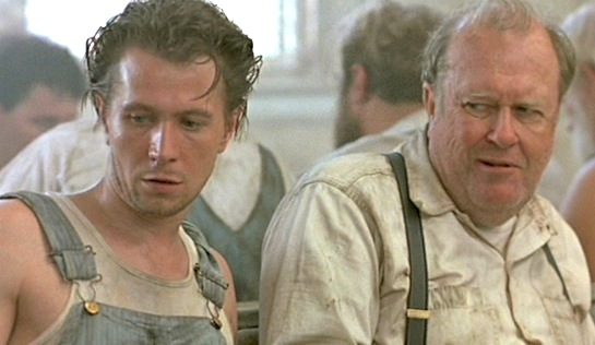 Chattahoochee - Gary Oldman (left) as Emmet Foley