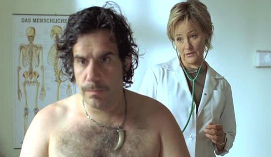 Chicken Mexicaine - Bruno Cathomas as Roby Schmucker and Juana von Jascheroff as Dr Helen Berger