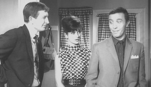 Clash by Night #3 - Terence Longdon as martin Lord, x as his wife Nita, and Harry Fowler as Doug Roberts