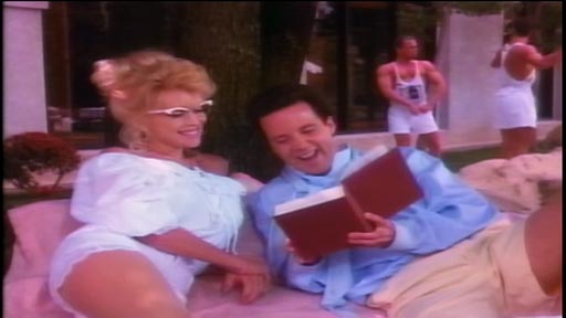 Club Fed - Judy Landers as Angelica Paziotopoulos and Lance Kinsey as Howald Polk