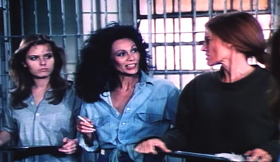 The Concrete Jungle - Tracy Bregman as Elizabeth Demming, Barbara Luna as Cat, and Niki Dantine as Margo