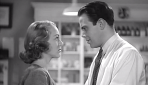 Condemned Women #3 - Sally Eilers as Linda Wilson and Louis Hayward as Dr Phillip Duncan