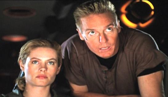 Convict 762 - Shannon Sturges as Captain Nile and Frank Zagarino as Vigo