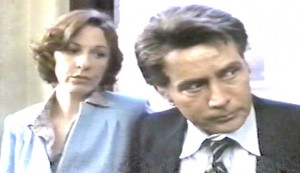 In the Custody of Strangers #3 - Jane Alexander as Sandy Caldwell and Martin Sheen as Frank Caldwell