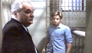In the Custody of Strangers #4 - x as Warden Alfred Caruso and Emilio Estevez as Danny Caldwell