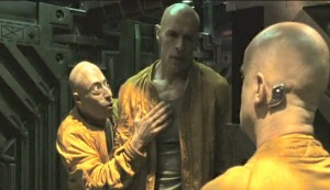 Dante 01 #3 - x as Raspoutine, Lambert Wilson as Saint Georges, and Dominique Pinon as Cesar