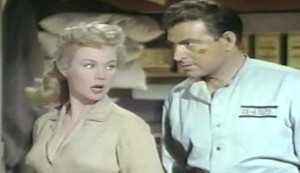 Devil's Canyon #2 - Virginia Mayo as Abby Nixon and Stephen McNally as Jesse Gorman