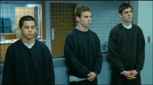 Dog Pound #2 - Angel (Mateo Morales), Davis (Shane Kippel) and Butch (Adam Butcher)