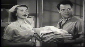 Duffy of San Quentin #2 - Joanne Dru as Anne Halsey and Louis Hayward as Edward 'Romeo' Harper