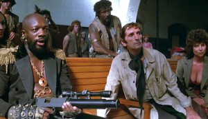 Escape from New York #3 - Isaac Hayes as The Duke, Harry Dean Stanton as Brain and Adrienne Barbeau as Maggie