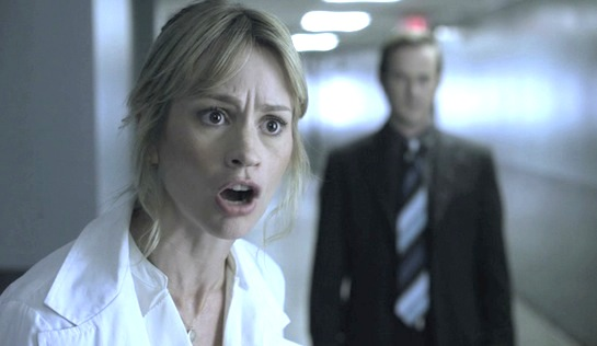 The Evil Gene - Cameron Richardson as Dr Dana Ehrhart and Richard Speight Jr as Agent Griff Krenshaw