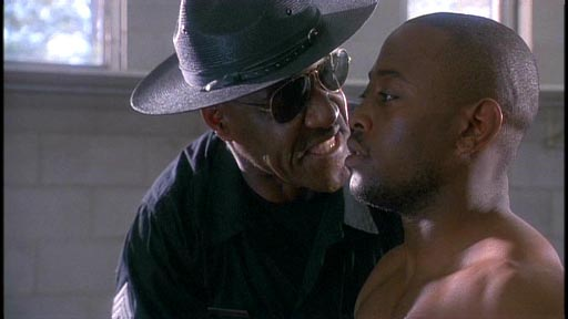 First Time Felon - Delroy Lindo as Sgt Calhoun and Omar Epps as Greg Yance