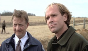 Fled #2 - Ken Jenkins as Warden Nicholls and Will Patton as police officer Matthew Gibson