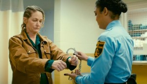 Furlough #3 - Melissa Leo as Joan Anderson and Tessa Thompson as CO Nicole Stevens