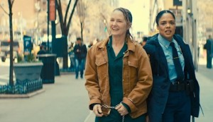 Furlough #4 - Melissa Leo as Joan Anderson and Tessa Thompson as CO Nicole Stevens