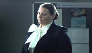 Get Santa #3 - Joanna Scanlon as parole officer Ruth
