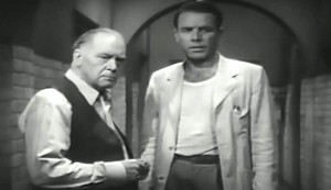 Those High Grey Walls #4 - Oscar O'Shea as the warden and Onslow Stevens as Dr Frank Norton