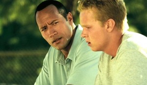 Gridiron Gnag #3 - Dwayne Johnson as Sean Porter and Trever O'Brien as Kenny Bates