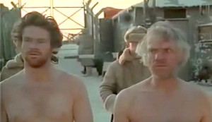 Gulag #2 - David Keith as Mickey Almon and Malcolm McDowell as 'The Englishman' Kenneth Barrington