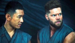 Hades #3 - Xiaoming Huang as Shu and Wes Chatham as Jasper Kimbral