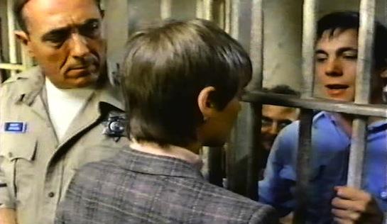 Hard Choices - John Seitz as Sheriff Mavis Johnson, Margaret Klenck as Laura Stephens and Gary McCleery as Bobby Lipscomb