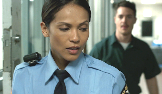 Heartlock - Lesley-Ann Brandt as Tera Sharpe and Alexander Dreymon as Lee Haze