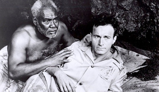 Hell on Devil's Island - Rex Ingram as Lulu and Helmut Dantine as Paul Rigaud