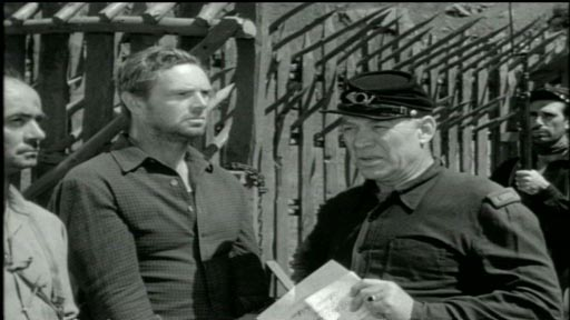Hellgate - Sterling Hayden as Gilman Hanley and Ward Bond as Lt Tod Voorhees