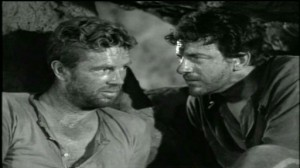 Hellgate #3 - Sterling Hayden as Gilman Hanley and James Arness as George Redfield