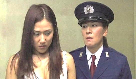 Hellhole: Inmate 611 - Akira Kiuchi as Sayaka Mizushima and Jaguar Yokota as Guard Keiko Mikawa