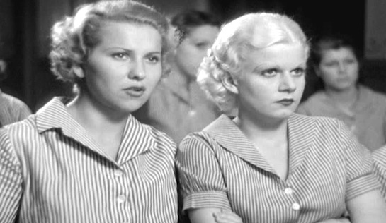 Hold Your Man - Barbara Barondess as Sadie Klein and Jean Harlow as Ruby Adams
